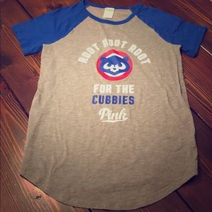 VS PINK Cubs shirt